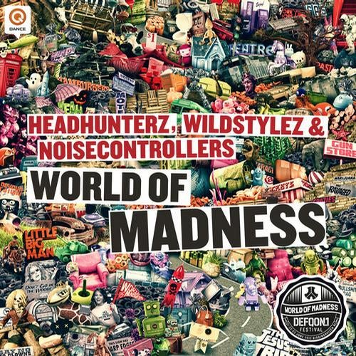 Headhunterz, Wildstylez & Noisecontrollers - World Of Madness (Defqon.1 2012 O.S.T.)