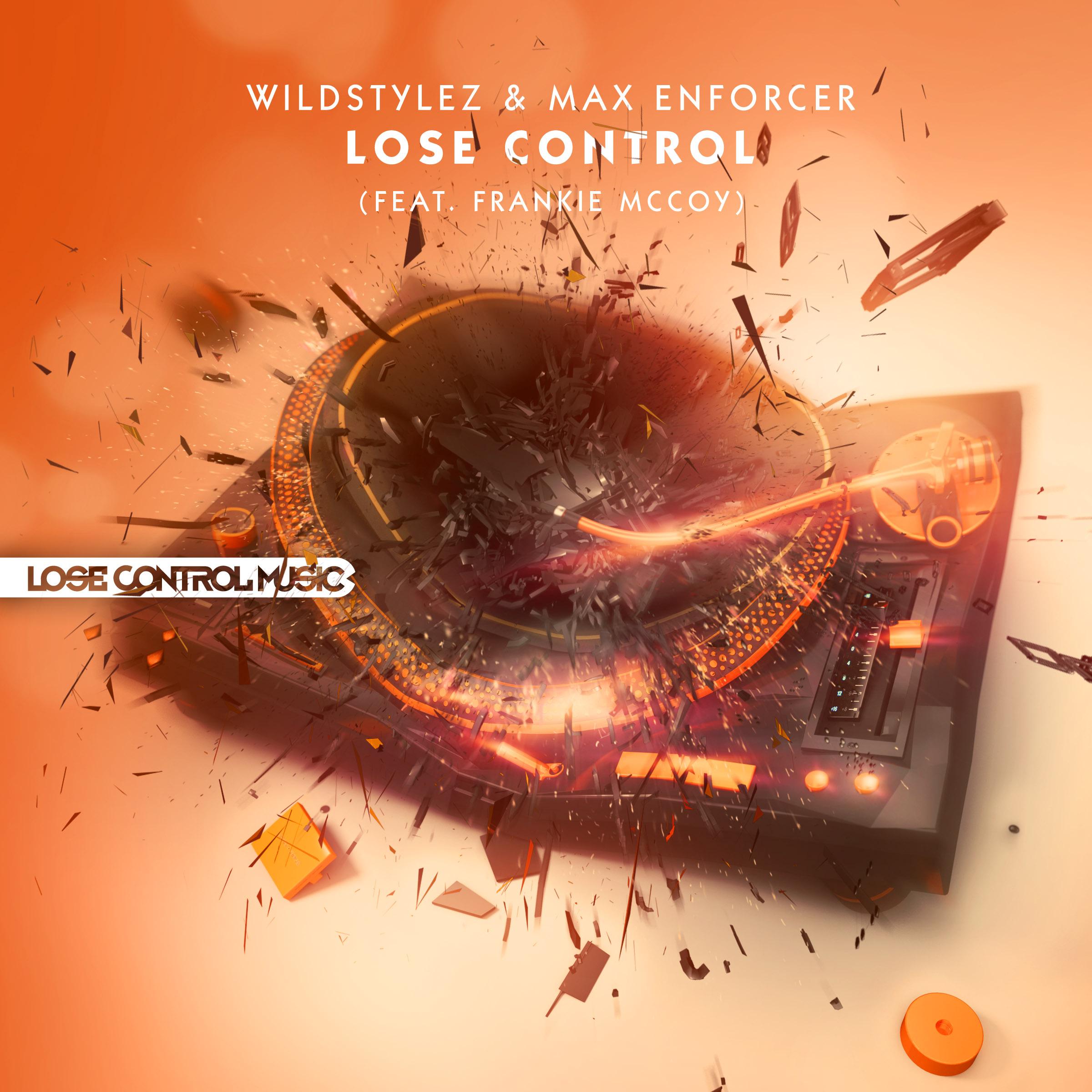 LCM002_Wildstylez & Max Enforcer - Lose Control (feat Frankie McCoy) 2400x2400 300dpi