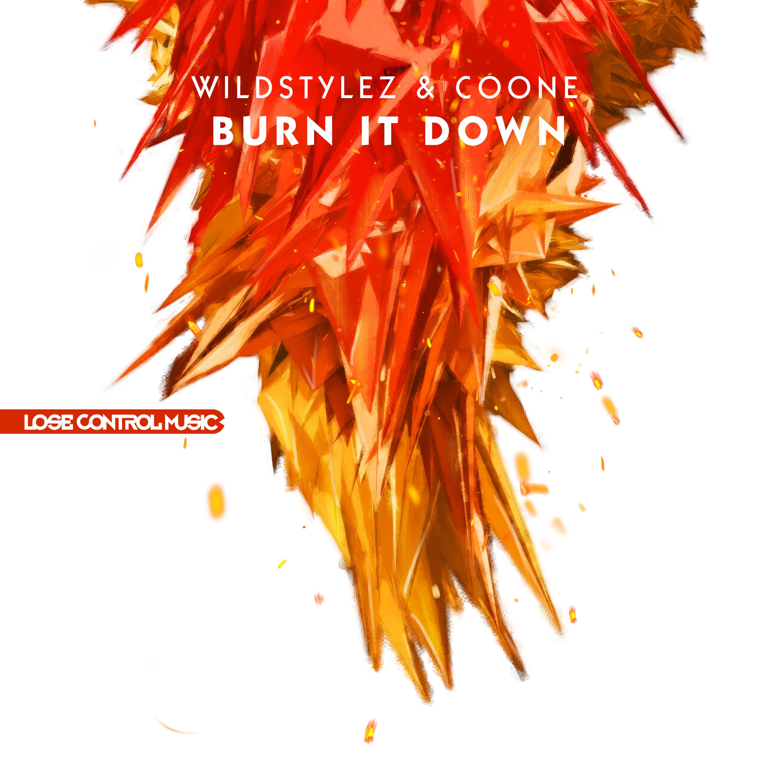 LCM023_ Wildstylez & Coone - Burn It Down 3000x3000