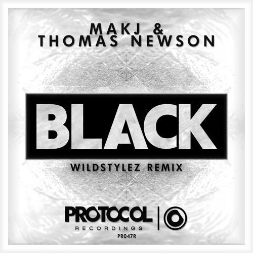Thomas Newson & MAKJ - Black (Wildstylez Remix)