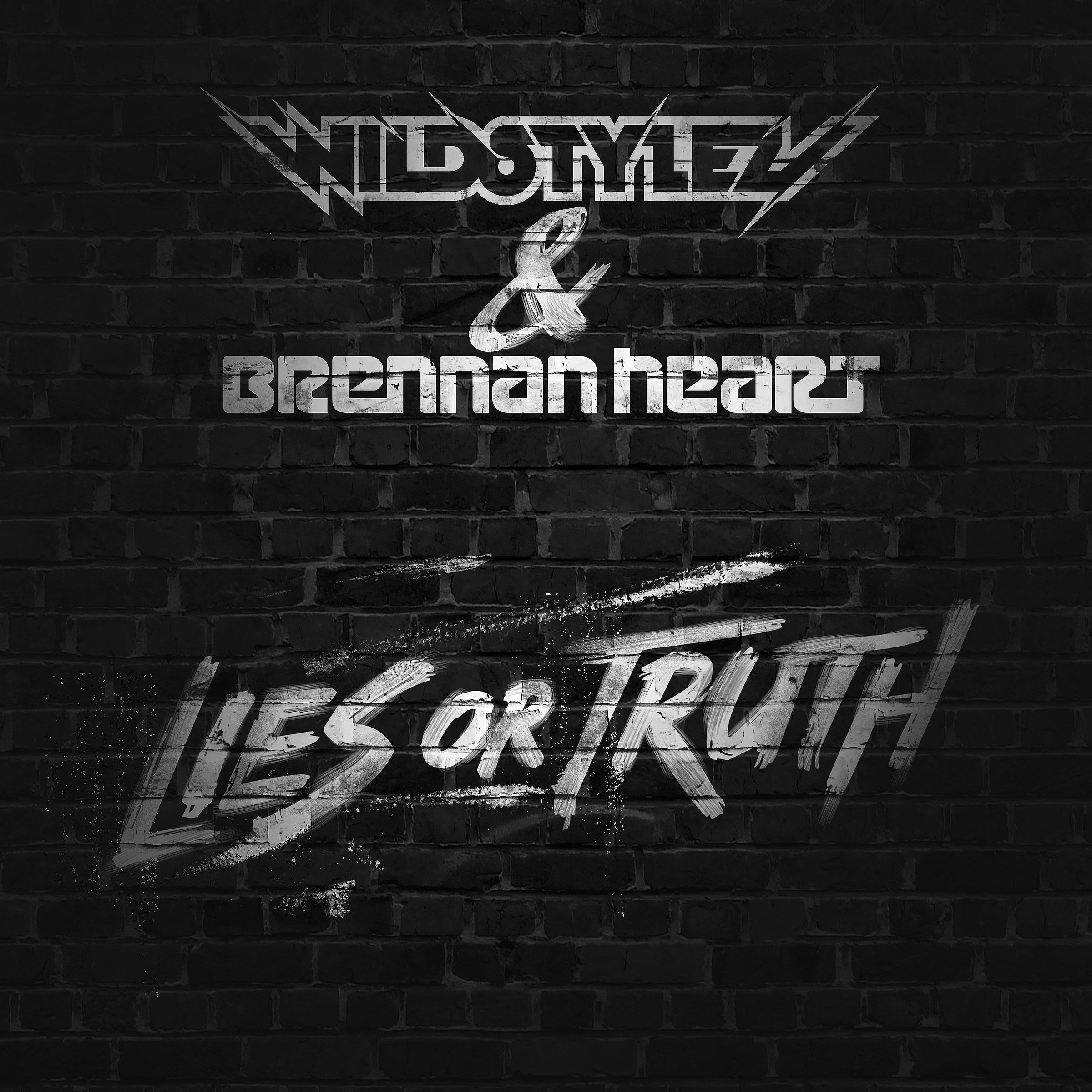 Wildstylez & Brennan Heart - Lies or Truth_Cover