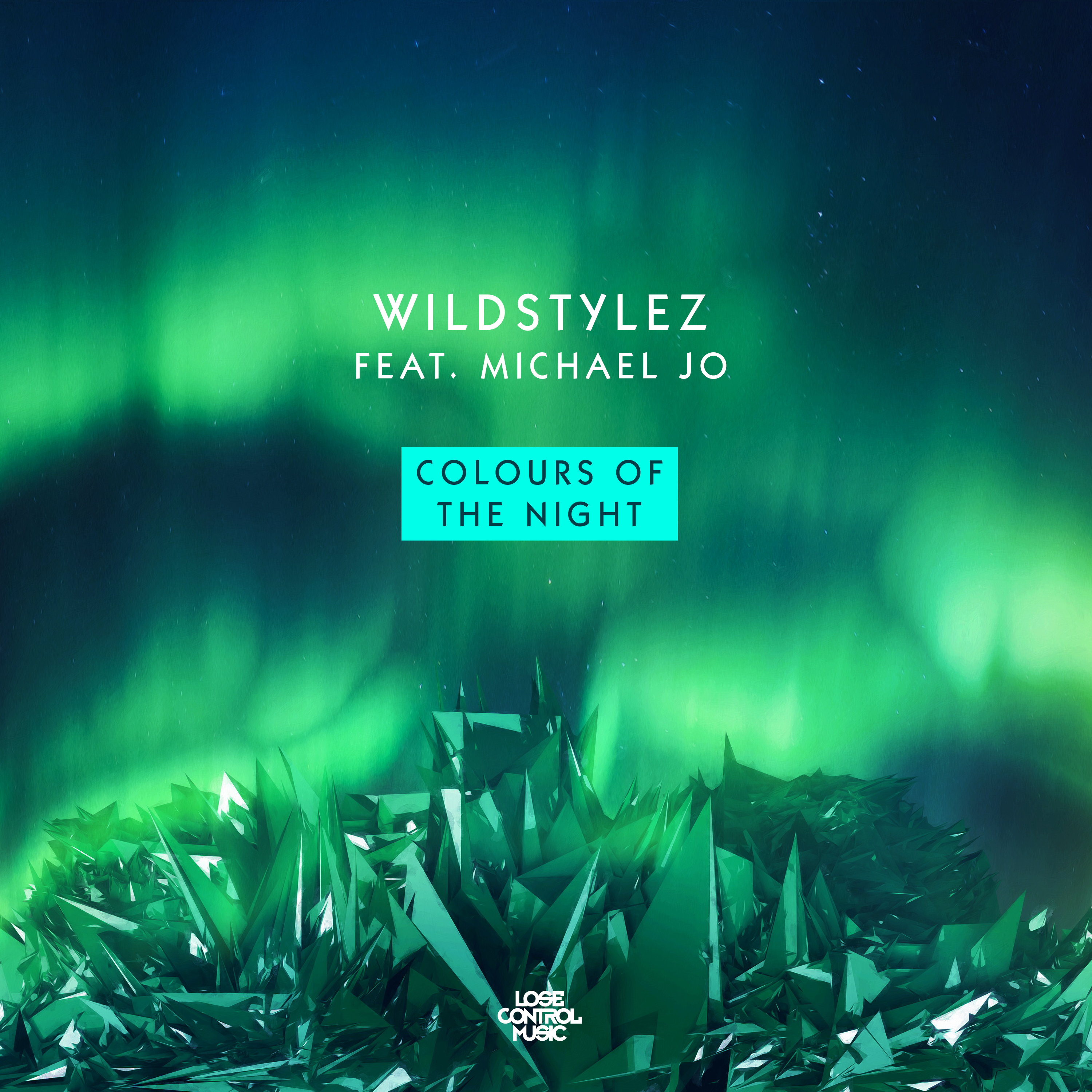 Wildstylez feat Michael Jo - Colours Of The Night 3000x3000