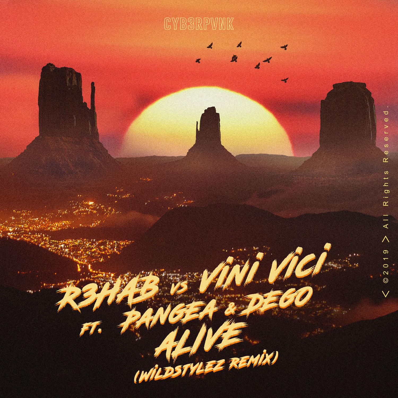 R3HAB vs Vini Vici ft. Pangea & DEGO - Alive (Wildstylez Remix)